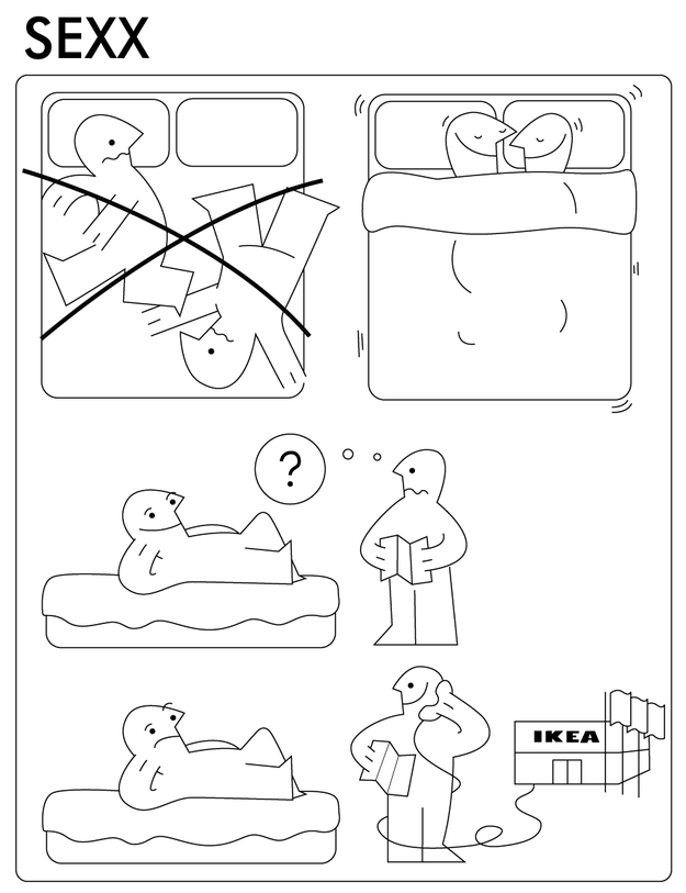 Funny Ikea Manuals - Wouter Planet